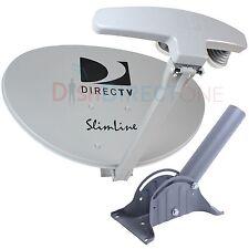SLIMLINE DIRECTV DTV att SL5 LNB HD SATELLITE DISH KAKU Low Pro Short Mount Leg