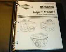 Briggs & Stratton Single Cylinder Ohv Engines Service Manual Ms-9939-5/96