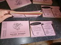 1 cahier à spirale d'échantillon 21 BUVARD S PAPIER CANSON Multicolore 125/250gr