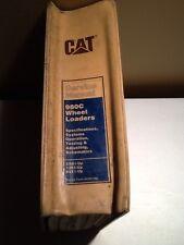 CAT 980C Wheel Loaders Service Manual *OEM*