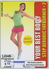 ANDREA/FITNESS BODOR - YOUR BEST BODY/STEP AEROBIC FATBURNER2  DVD NEU