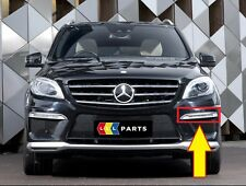 NUOVO Originale Mercedes MB ML63 W166 AMG Paraurti Anteriore Sinistra Chrome Trim DRL N/S