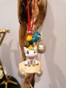 Disney Moana Christmas Tree Decorations Figure Pua Pig and Chicken
