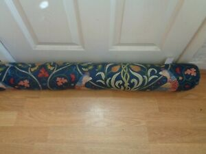 WILLIAM MORRIS FABRIC  SEASONS OF MAY ONE DELUXE DRAUGHT EXCLUDER STUNNING !!