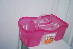 Day/Night caddy 2 in 1 basket Bath Shower Caddy Portable Toiletries Organizer