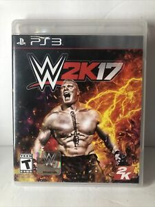 WWE 2K17 (PlayStation  3) PS3 with Insert