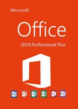 Microsoft Office 2019 Professional Plus 32/64 Bit Vollversion Lizenz
