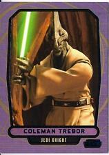 2013 Topps Star Wars Galactic Files Series 2 Blue Foil #420 Coleman Trebor /350