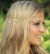 Bohemia Boho Gypsy Wafer Tassel Head Chain Headpiece Beauty Party Jewellery HOT