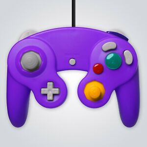 GameCube Controller Wired Purple for Nintendo GC Wii Console Joypad Gamepad