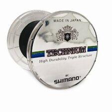 Shimano Technium Ligne de pêche 0,18mm / 3, 50kg 2950m noir