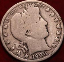 1900-O New Orleans Mint Silver Barber Half Dollar