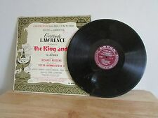The King and I 1951 Original Cast Album Decca Long Play Lawrence Brynner Mono