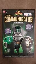 Power Rangers Legacy Communicator Tommy Oliver Edition RARE Green White MMPR TRU