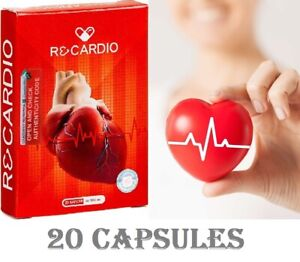 ReCardio 100% ORIGINAL natural dietary supplement to normalize blood pressure