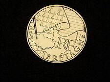 TRES  BELLE PIECE DE  10 EUROS DES REGONS 2010 BRETAGNE