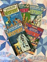 DC Comics House of Mystery 186 214 215 218 224 (1970-1974)  5 Issue Lot