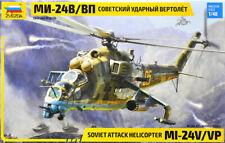 Zvezda 1/48 Mil Mi-24v/vp Soviet Attack Helicopter # 4823
