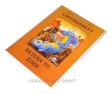 LÖSUNGSHEFT RETURN TO ZORK von Magic Line Hintbooks