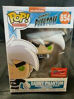 Funko Pop NYCC 2020 Official Comic Con Sticker Nickelodeon Danny Phantom #854