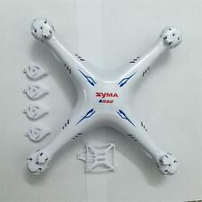White Syma X5SC X5SW RC Quadcopter Main Body Outer Cover Case Shell Spare Parts