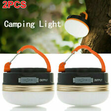 USB Rechargeable LED Camping Light Lantern Hiking Tent Lamp Outdoor Indoor Light