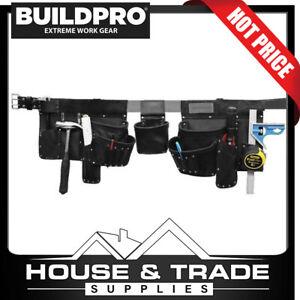 "BuildPro Tool Apron Premium Leather Belt ""The Gladiator"" Tradie LWGLAD"