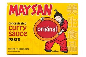 448g MAYSAN ORIGINAL CURRY Sauce Paste Concentrate, Chinese takeaway Chicken
