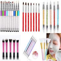 10Pcs Makeup Brushes Set Powder Foundation Eyeshadow Eyeliner Lip Brush Tool