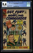 Sgt. Fury and His Howling Commandos #41 CGC NM 9.4 Off White