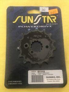 Sunstar by Sunnex PowerDrive Sprocket Model / MPN 51115 Front Sprocket NIP LQQK