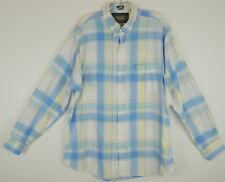 Ralph Lauren Vintage 3 Boy Scout Label XL Plaid Beachy Button Down Shirt #13