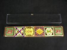 5 x 25gr Roger & Gallet kleine Parfümseife Kollektion Savon Fougere vintage