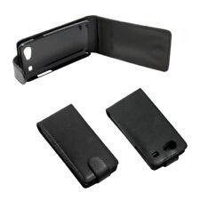 Handytasche Flip Case schwarz für Samsung Galaxy S Advance (I9070)