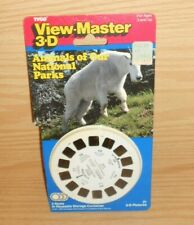 View Master 3D Animals of Our National Parks Reels