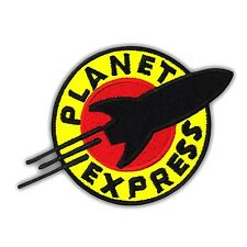 FUTURAMA The Planet Express Embroidered Iron On Patch Applique Mission Logo TV