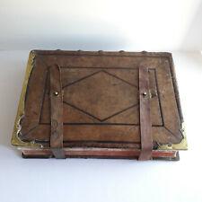 ANTIPHONAIRE ROMAIN Diocèse de Chartres 1865 ; Reliure cuir