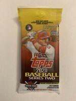 2020 Topps Series 2 Baseball HUGE Factory Sealed JUMBO FAT PACK-34 Cards