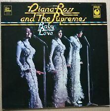 D.ROSS & SUPREMES.  Baby Love. Vintage 1973 MFP  label vinyl L.P. A1/B1. Ex / Ex