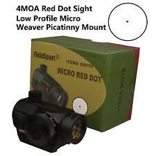 Red Dot Reflex Sight Gun Optics Scope Shooting Hunting Pistol Rifle Firearm NEW