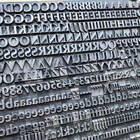 36p Weiß ANTIQUA fett - Bleisatz Buchdruck Handsatz Letterpress Type Bleilettern