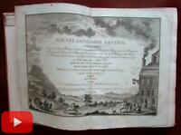 Atlas 41 maps Europe 1782 Desnos wall maps British Isles Italy Germany Spain