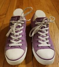 UGG Evera Womens Canvas Sneakers Size 9 Purple Style 1000452