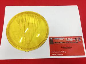 HELLA 12060 Schweinwerferglas gelb 105mm Messerschmitt KR175,Steyr Puch (31-079)