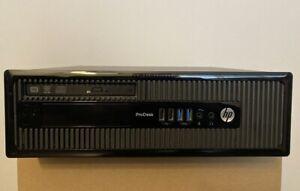 ★★ ORDENADOR PC SOBREMESA HP PRODESK 400 G1 SFF INTEL i3 HDMI WINDOWS 10 PRO ★★