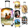 Horse Womens Suitcase Protect Cute Luggage Cover Case Dust-proof 18 22 24 26 28