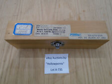 "A735 Fowler 53-675-218 Gage Block 6"" Gr2 for Machine Shop Lathe Mill Micrometer"