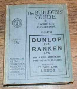Architecture: National Federation Builders' Guide & Architects' Referendum 1929