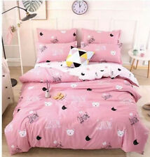 Cartoon Cat Quilt Covers King Queen Double Single New Bedding Set