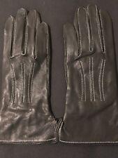 Black leather gloves Brand New Avon Cosmetics